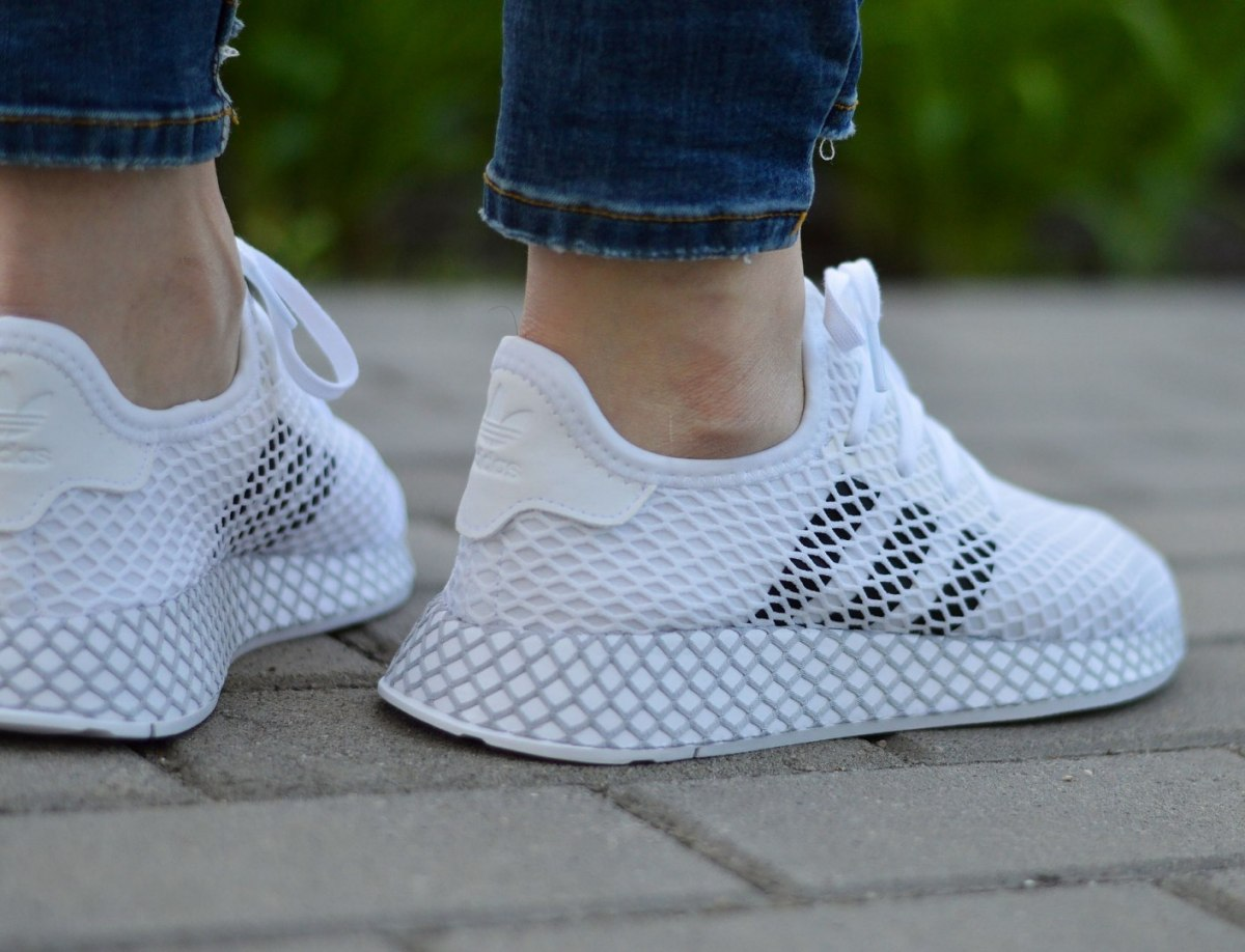 Details about Adidas Deerupt Runner J F34295 Junior/Women's Sneakers